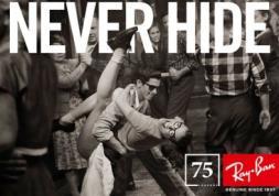 Paris en fête pour les 75 ans des lunettes Ray Ban