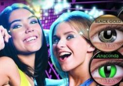 Vente de lentilles de couleur aux ados : procès aux USA