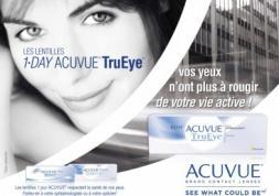 La campagne Acuvue a augmenté la fréquentation chez les opticiens