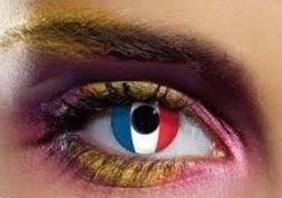 Lentilles France, les lentilles fantaisie pour fans des Bleus !