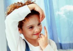 Les lentilles de contact pour les enfants et les bébés