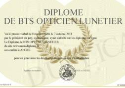 Résultats 2012 du BTS Opticien Lunetier : 2044  diplômés !