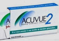 Lentilles Acuvue : plusieurs modèles bientôt retirés du marché