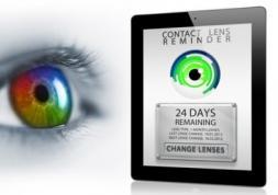 Une nouvelle application smartphone pour les porteurs de lentilles
