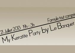 My Kératite Party : un banquet militant pour les opticiens !