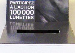 Opération 100 000 lunettes : bilan intermédiaire positif