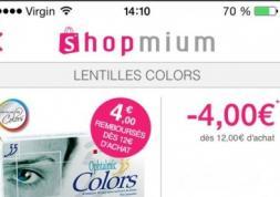 Une application mobile pour acheter moins cher vos lentilles !