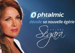 Spot TV : Hélène Ségara présente les lentilles Ophtalmic HR 1 Day