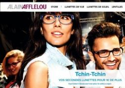 Alain Afflelou lance son site e-commerce de lentilles de contact