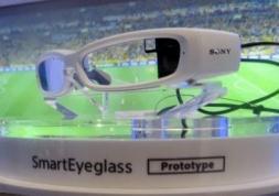 Nouvelles lunettes connectées de Sony : SmartEyeglass
