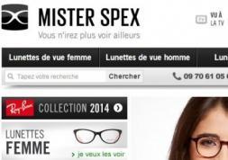 L'e-commerce de lunettes et lentilles Mister Spex lève des millions