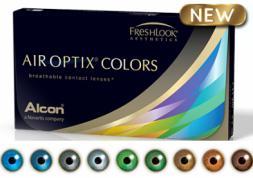 Lentilles Air Optix Colors: Alcon vous offre l'ombre à paupières !