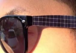 Et si on rechargeait nos smartphones avec nos lunettes solaires ?