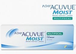 Pré-lancement des lentilles 1 Day Acuvue Moist Multifocal