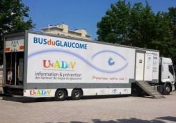 Le bus de dépistage du glaucome entame un nouveau tour de France