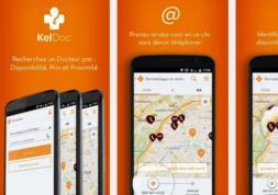 KelDoc: une appli mobile pour un rendez-vous rapide chez l'ophtalmo