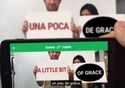 Vidéo: une appli Google voit et traduit chaque mot en un clin d'œil !