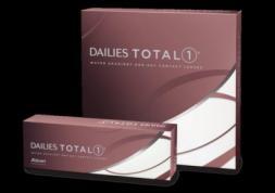 Plus de puissances pour les lentilles journalières Dailies Total 1