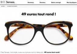 Lunettes pas chères: Sensee ouvre sa première boutique à Paris
