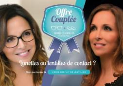 Offre Couplée inédite: 1 mois gratuit de lentilles progressives Ophtalmic !