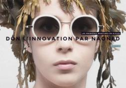 Naoned: Des montures de lunettes écologiques en algues de Bretagne !