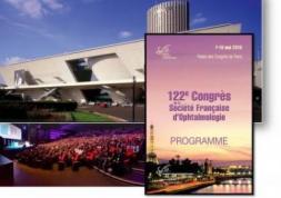122ème édition du Congrès de la Société Française d'Ophtalmologie
