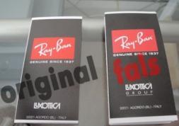Guerre ouverte aux contrefaçons de lunettes Ray-Ban !