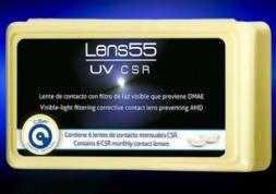Premières lentilles de contact anti-lumière bleue