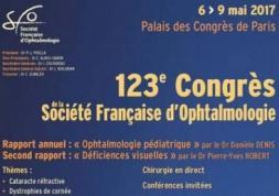 Congrès 2017 de la Société Française d'Ophtalmologie : Dates et infos