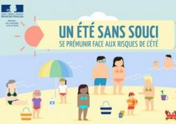 Santé et risques de l'été : Nouveau site de prévention du ministère