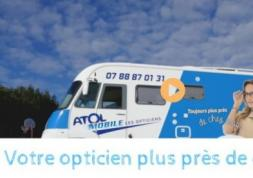 Atol Mobile: Un camping car transformé en service d'optique itinérant