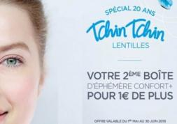 Afflelou fête 20 ans et offre la 2ème boite de lentilles à 1 euro