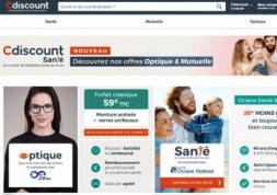 CDiscount se lance dans la vente de lunettes en ligne