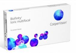 Nouvelles lentilles Biofinity multifocales toriques