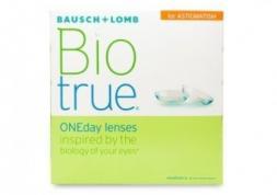 Lentilles Biotrue OneDay pour astigmates : Nouveaux paramètres