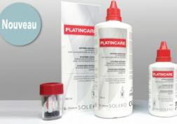Nouvelle solution Menicon pour lentilles de contact: PlatinCare