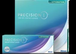 Alcon élargit sa gamme de lentilles journalières Precision 1