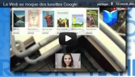 La parodie des lunettes Google !