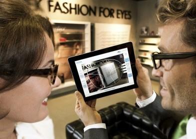 Un iPad comme simulateur de lunettes ! (Vidéo)
