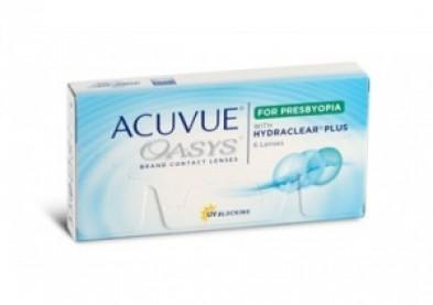 Une nouvelle lentille de contact Acuvue Oasys pour presbyte
