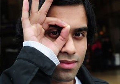 Il veut être payé pour porter des lentilles de contact publicitaires !