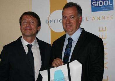 André Balbi, opticien corse, élu «L'Opticien de l'année» 2011