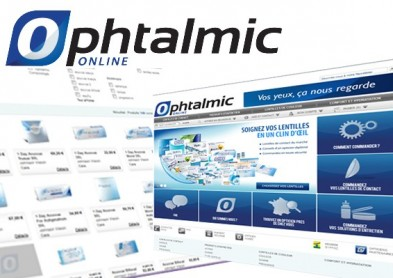 Lancement du site Ophtalmic-Online.fr - Le point de vue des opticiens