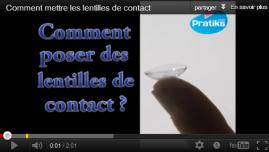 Comment mettre ses lentilles de contact ?