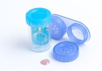 Bien connu Menicon présente un étui ultramince pour lentilles journalières  DF53