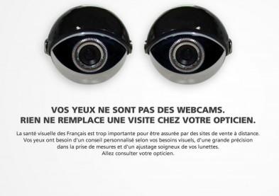 Campagne des opticiens : «Vos yeux ne sont pas des webcams»