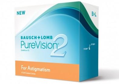 La lentille torique PureVision 2 pour astigmate arrive en France