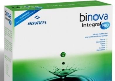 Binova Integral Pro, nouveau produit pour lentilles souples