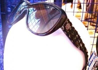 Tendance 2012 : des lunettes de soleil Chanel en tweed !