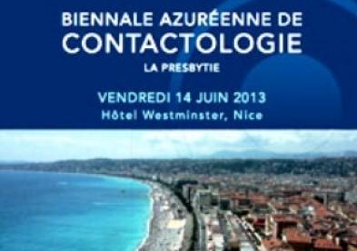 Biennale azuréenne de contactologie 2013 : date et programme